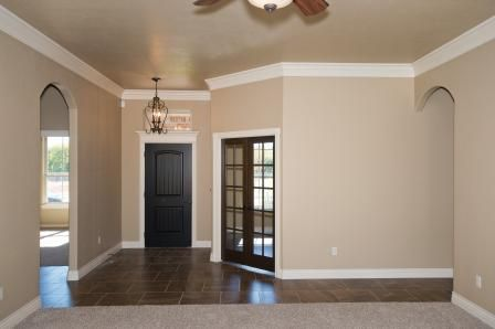 Crown molding ::swoon::  New home by Westpoint Homes in NW Oklahoma City.