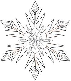 If you ever wanted to know how to draw that beautiful snowflake from Disney's Frozen movie, then you are going to enjoy this drawing tutorial. Today I will
