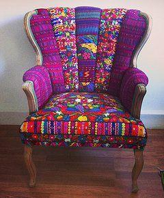 Folk Project Home Decor & Accessories | Grecia Bohemian Chic Chair www.folk-project.com