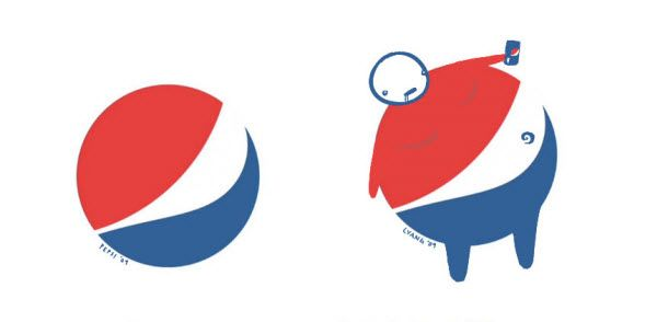 30 Brilliant Logo Parodies that say the Real Meaning of Famous Brands. Follow us www.pinterest.com/webneel