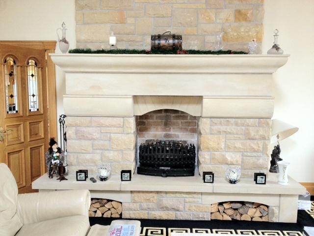 Mountcharles Sandstone Fireplace Surround
