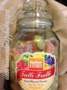 Just bought this jar of fruit flavored hard candy for $2.99 | Aldi Love | Hard candy, Food