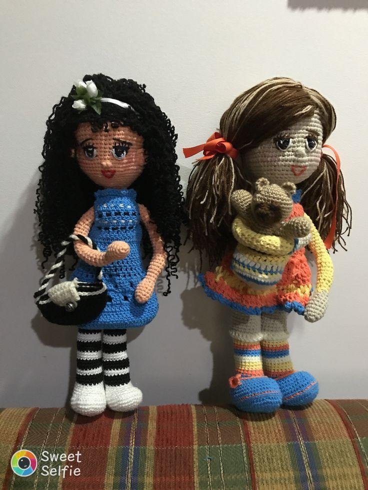 Muñecas Briany y Daniela para la venta hermosas
