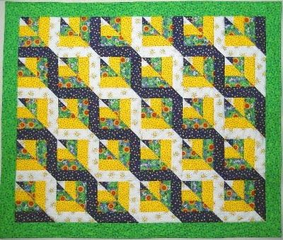 Quilt Tutorial Twisted Rail Really Like The Look Of This