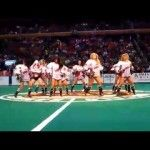 Cheerleader Gets Her Head Stuck in Her Shirt and Keeps Dancing [VIDEO]  #SoJO #Cheer #Dance #News