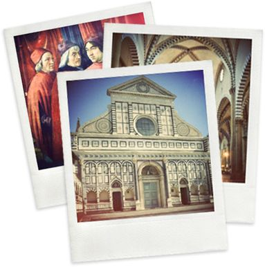 Go to the Church of Santa Maria Novella and see the Crucifix painted by Giotto, the wooden Crucifix sculpted by Brunelleschi and Masaccio's Holy Trinity.