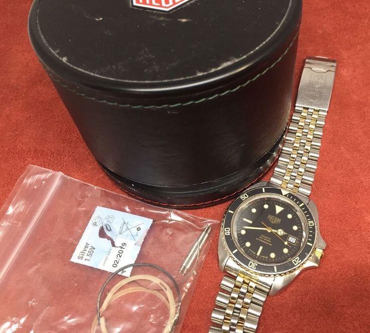 Restored Vintage TAG Heuer Professional 200m 41mm Submariner Dive Watch 980.021N  | eBay