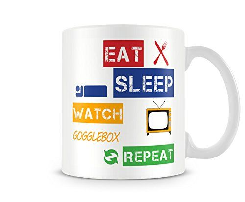 Fingerprints Eat, Sleep, Watch Gogglebox, Repeat Printed Mug No description http://www.comparestoreprices.co.uk/december-2016-5/fingerprints-eat-sleep-watch-gogglebox-repeat-printed-mug.asp