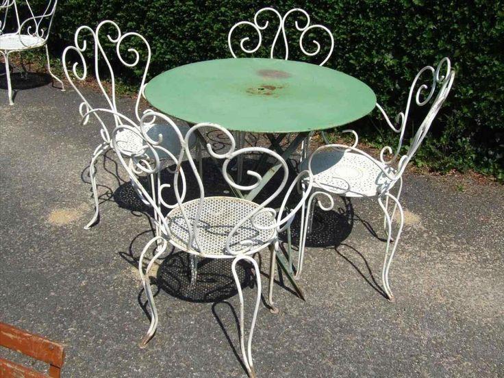 Antique French Garden Furniture Ideas, White Wrought Iron Garden Furniture Uk