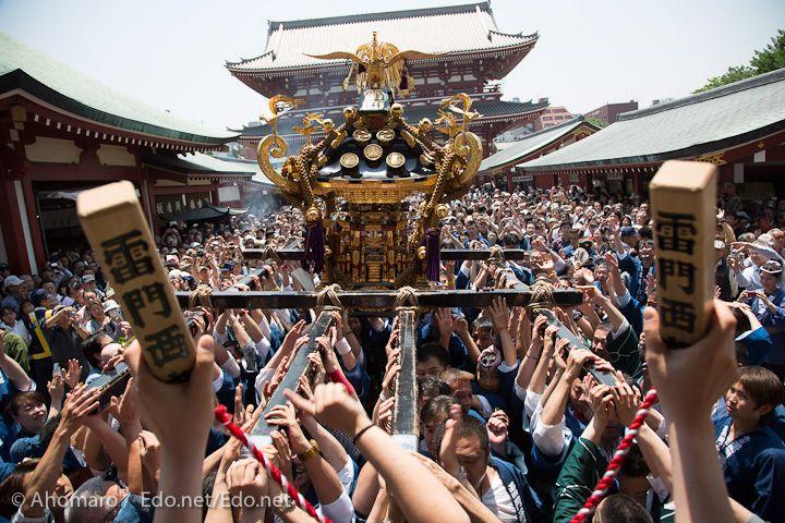 """浅草神社 """"Sanja Festival"""" Asakusa Tokyo"""
