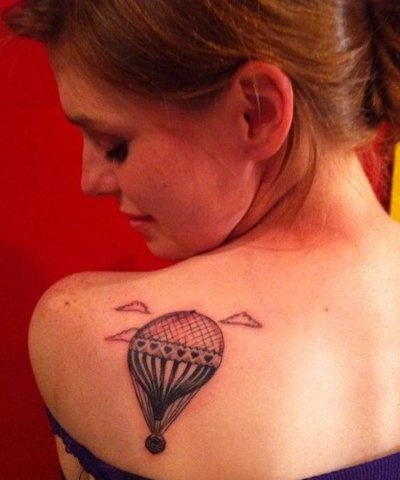 .this is really cool!Tattoo Ideas, Balloons Tattoo, Grocery Coupon, Ink Tattoo, Cool Ideas, A Tattoo, Hot Air Balloons, Cute Tattoo, Cool Tattoo