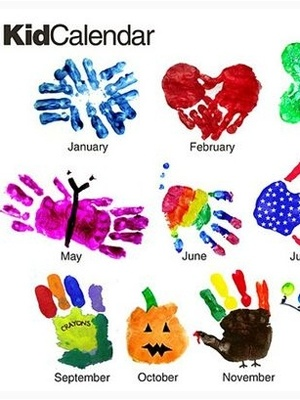 5 calendar crafts for kids | Today's Parent