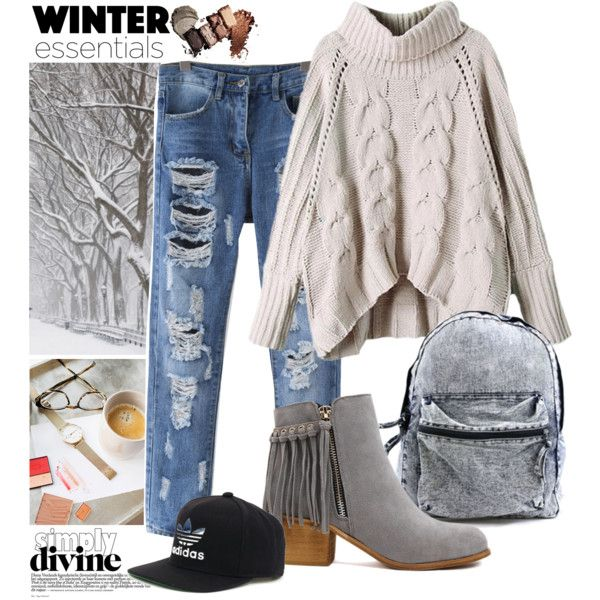 ... by r-dereli on Polyvore featuring polyvore, fashion, style and adidas