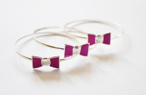BOW TIE BRACELETS(SET OF 3)
