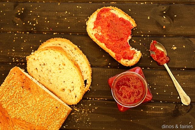 Thermomix Strawberry and Chia Jam #thermomix