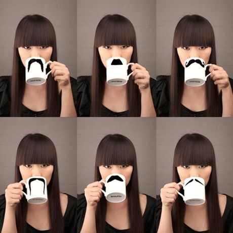 ha! moustache mugsIdeas, Helpful Things, Gift, Fun Recipe, Whiskers, Products, Diy Stuff, Mustaches Mugs3, Crafts