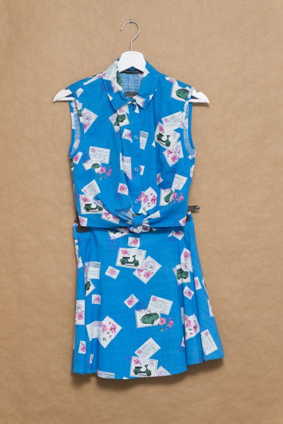 De compras en Primark: conjunto camisa anudada y falda skater