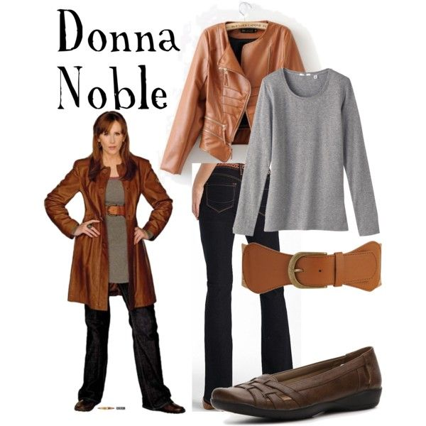 """""""Donna Noble"""" by companionclothes on Polyvore"""
