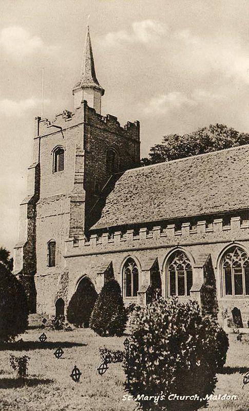 Essex, Maldon Church of Saint Mary