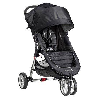 Baby Jogger City Mini Single Stroller - Black