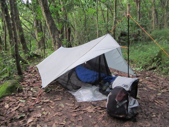 Best options for ultralite backpacking shelter