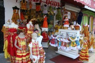 Le magasin #Dody à Pointe-à-Pitre en #Guadeloupe : vente de costumes traditionnels