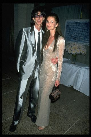 Ric Ocasek shines in silver suiting.   Band Style #2 ...