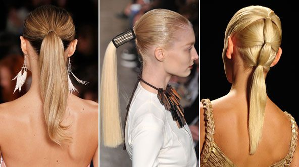 Spring 2012 Hairstyle To Wear: The Ponytail