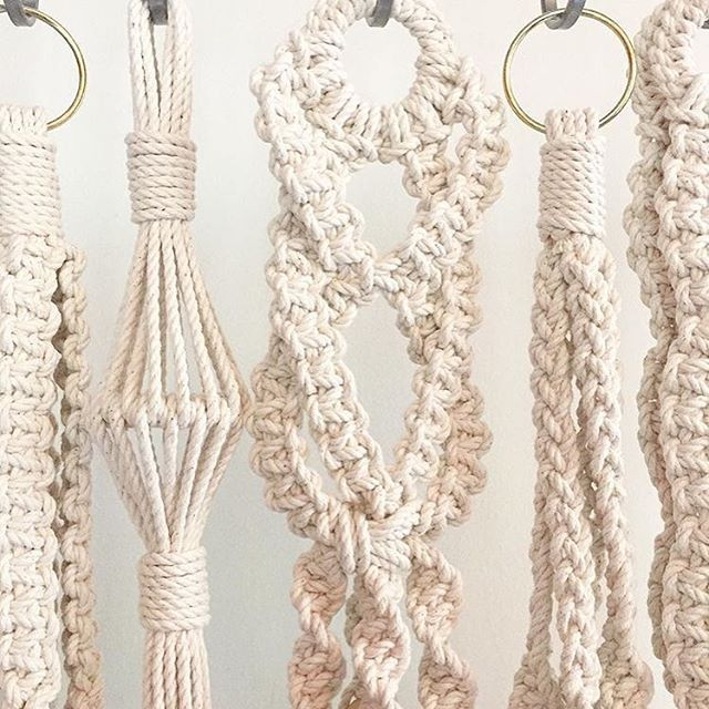just a few spots and 2 days left to sign up for Sunday's Macrame Plant Hanger workshop @creative_cove! RSVP at creativecove.net/tickets #knottingwithChiqui #howtomacrame #macrameworkshop #miamimakers #supportlocalfl #southfloridacreatives