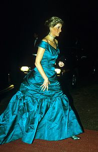 November 25 1987 Charles & Diana attended the Anglo/Spanish Society Bi-Annual Ball at Syon House, Brentford, Middlesex