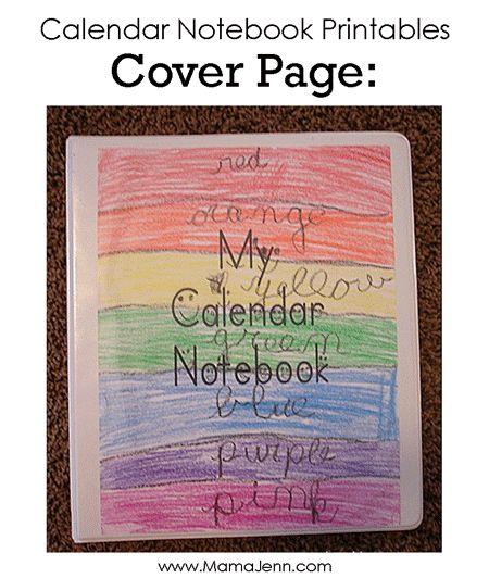 Calendar Notebook Homeschool : Best images about first grade math calendar on