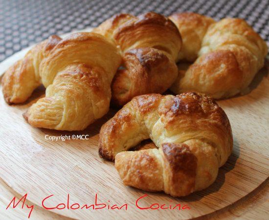 My Colombian Cocina - Croissants o Medialunas