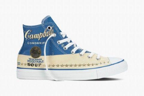 Converse x Andy Warhol Blue