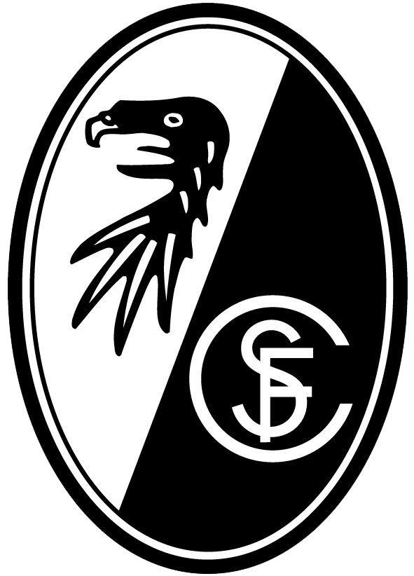 The club logo of SC Freiburg