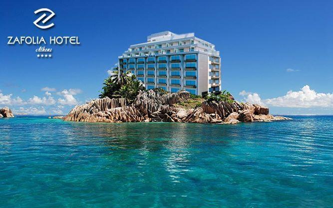 Zafolia hotel in summer