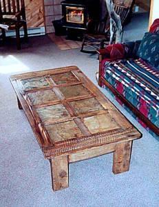cool barn wood table