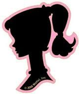 Maddyson's Lane: Barbie Silhouette Party