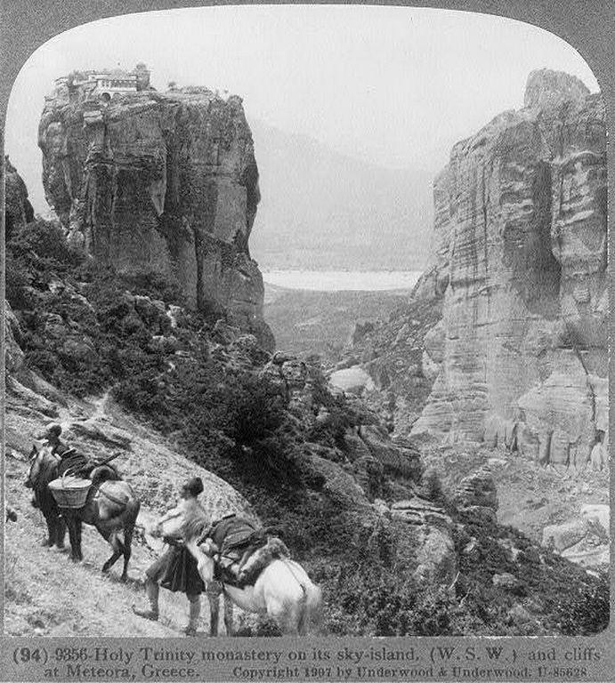 Meteora, Greece, January 1907