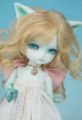 Saint Valentine's DaySOOM 1/6 6 bjd/SD doll Isaac blue cats Niang cat doll Volks DoD(China (Mainland))