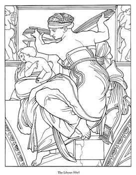 Sistine Chapel Coloring Page Find This Pin And More On Disegni Da Colorare