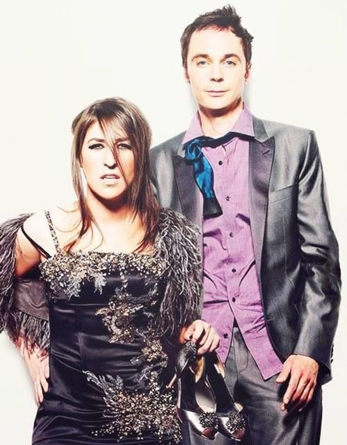 Wow that's Sheldon & Amy... Big Bang Theory.. i should make a board for them. haha