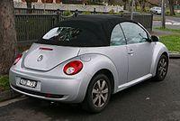 Volkswagen New Beetle - cabrio facelift