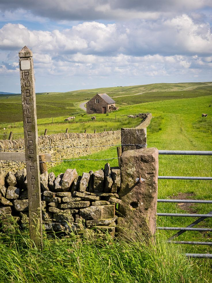 Longnor, Staffordshire, England by Bob Radlinski