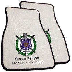 Omega Psi Phi car mats