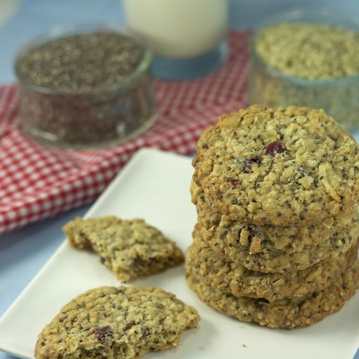 Hemp & Chia Seed Oatmeal Cookies | Art and the Kitchen
