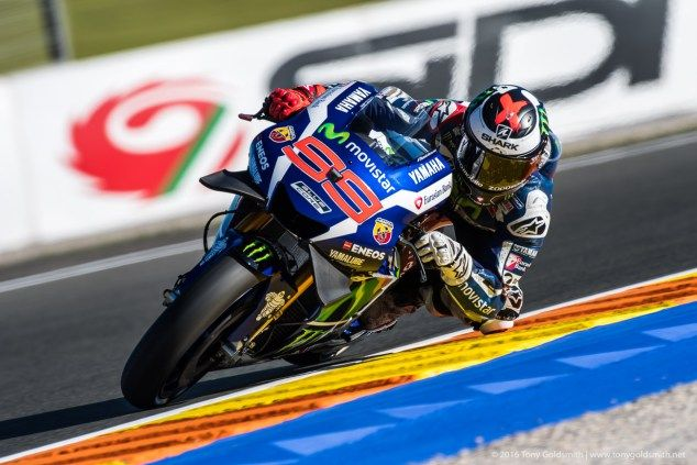 Rating The Riders, 2016: Jorge Lorenzo  Next up in our review of how the MotoGP riders performed in 2016 is Jorge Lorenzo. Here is our look at how the 2015 champion did last season. Jorge Lorenzo–Yamaha – 8 3rd – 233 points Jorge Lorenzo is arguably the fastest rider in the world on his day. Lorenzo's […]  The post  Rating The Riders, 2016: Jorge Lorenzo  appeared first on  Asphalt & Rubber .