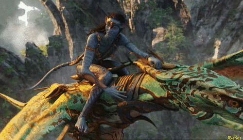 Neytiri y Jake Sully - Avatar