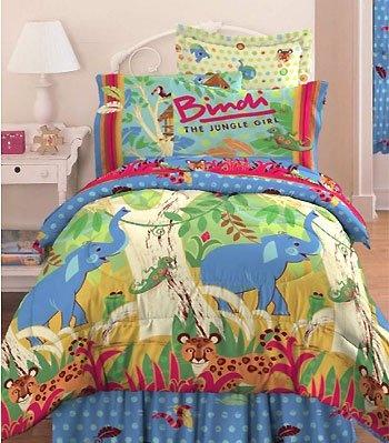 Bindi Jungle Animals Comforter Twin Bedding Set From Bindi