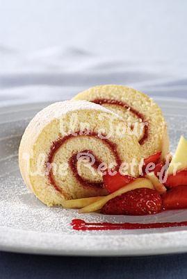 Gâteau roulé à la confiture, la recette facile et rapide