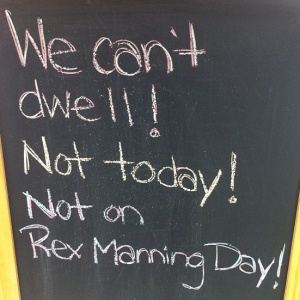 Rex Manning Day! via The Cardinal Rule